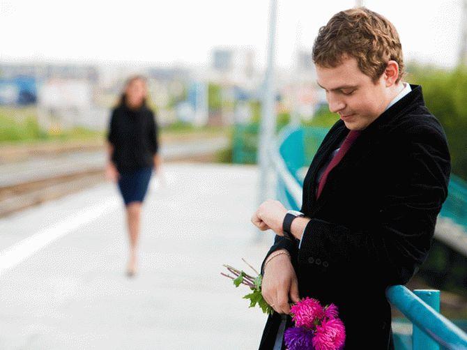Влюбленный мужчина пропал