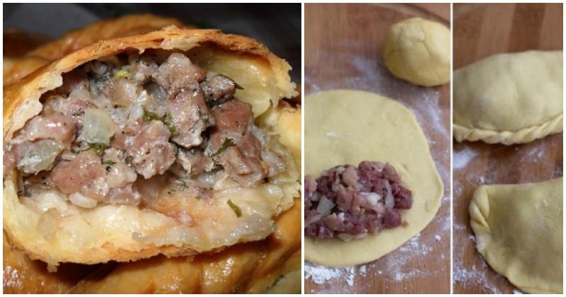 Маленькие пирожки с мясом: караимский рецепт