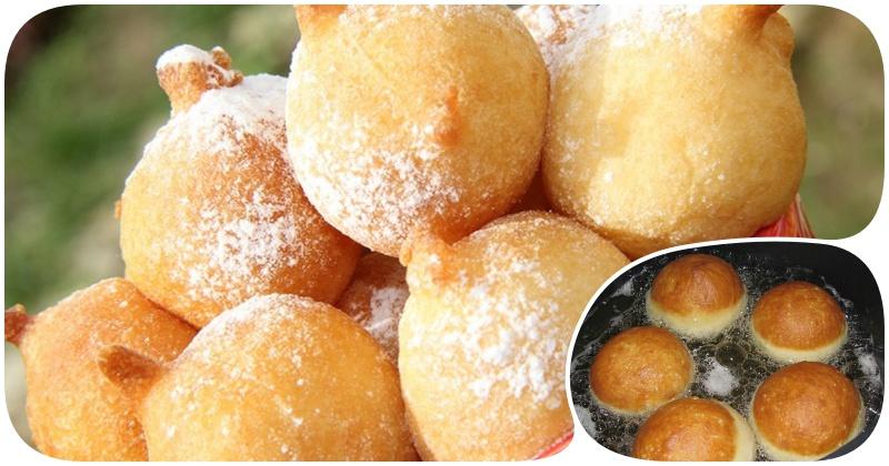 Как приготовить домашние пончики на кефире