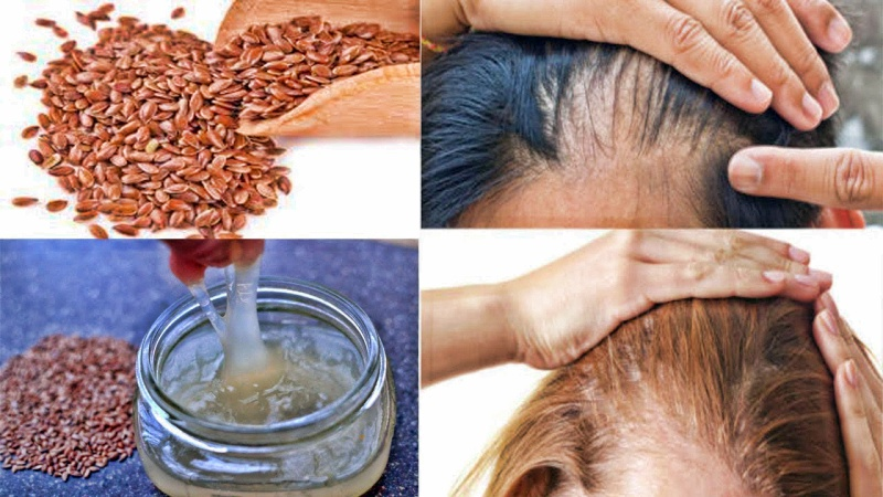Семена льна для волос