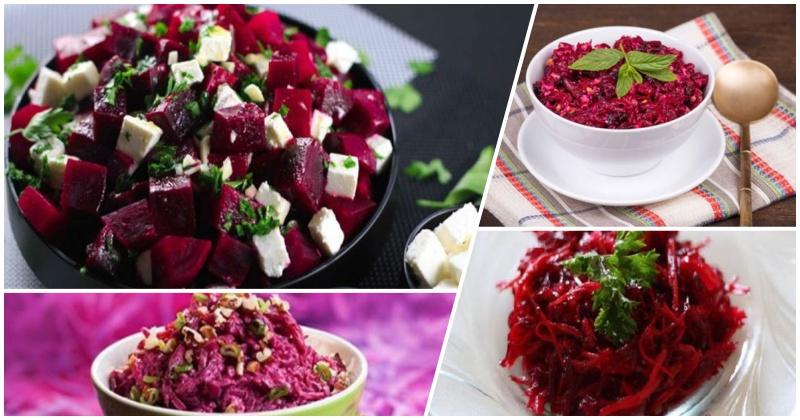 4 вкусных рецепта салатов из свеклы: когда гениальность в простоте