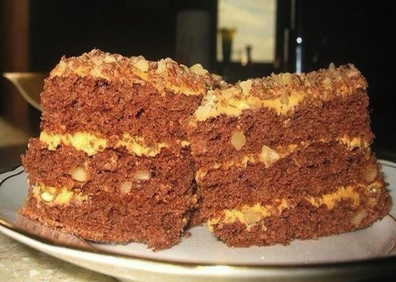 """Домашний торт """"Золотой ключик"""": больше не придется покупать в магазине"""