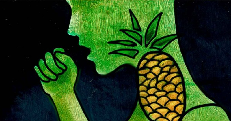 Польза ананаса и как ананасовый сок лечит кашель
