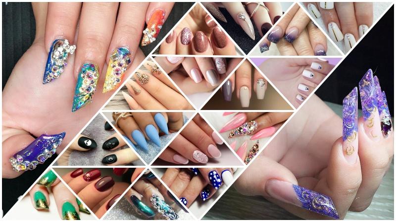 Стильный дизайн ногтей: 12 самых модных форм ногтей в 2018 году