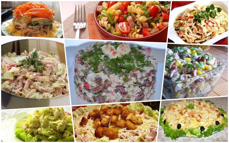Топ-9 лучших рецептов салатов, которые легко готовить каждый день