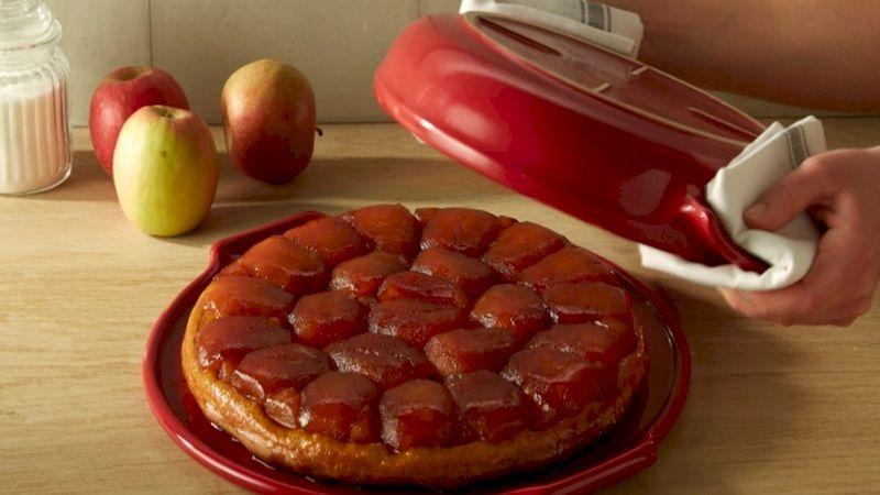 Сочный тарт Татен с яблоками в карамельной корочке: готовим французский пирог без хлопот