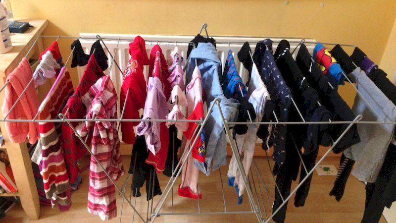 Что происходит с легкими, если сушить белье в помещении