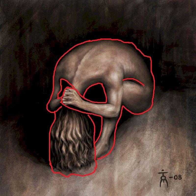 Женщина или все-таки череп: тест-иллюзия определит новые грани ваших эмоций