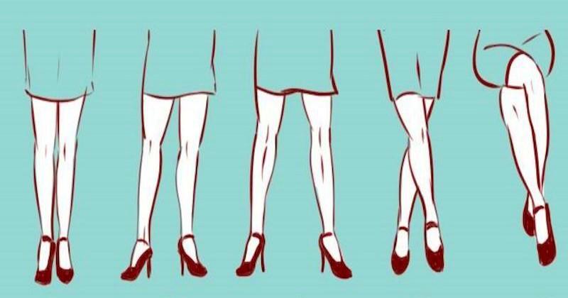 Страстная натура или замкнутая личность: что о вас расскажет любимое положение ног
