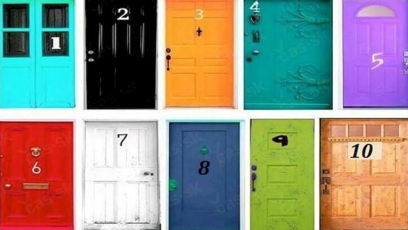 Психологический тест: выбрав одну из дверей, можно узнать тайны своего подсознания