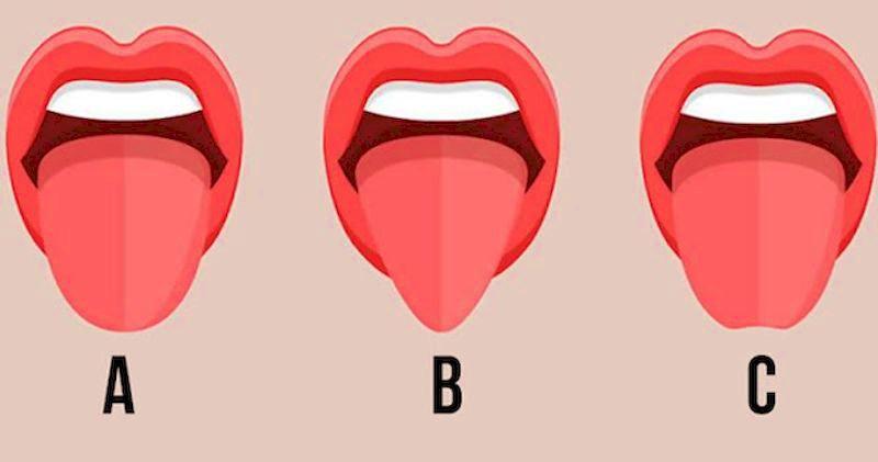Как по форме языка окружающие могут разгадать ваши личные черты