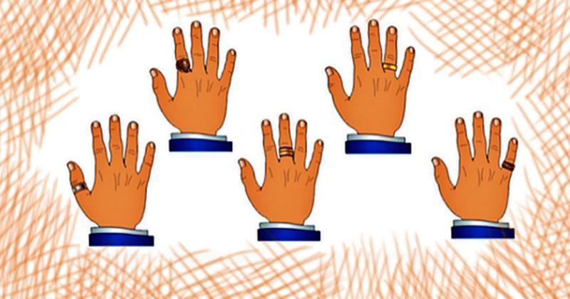 На каком пальце носите кольца, такой у вас и внутренний мир