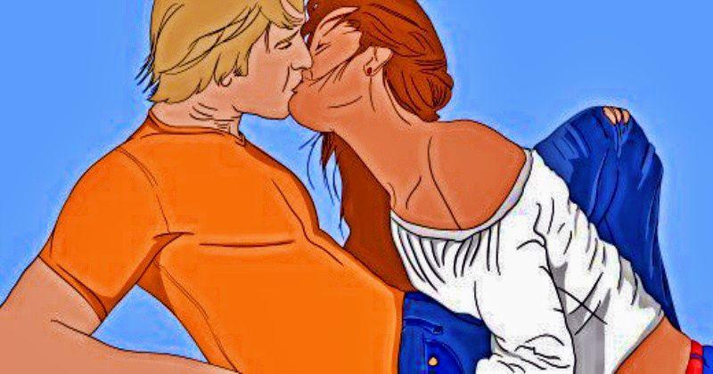 То, как целуется партнер, расскажет о силе его привязанности