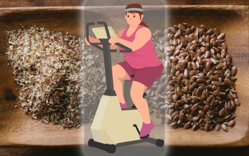 Семена льна для похудения: как льняное семя утончает вашу фигуру
