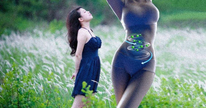 Ученые установили, что японская техника глубокого дыхания сжигает до 250 г жира в день