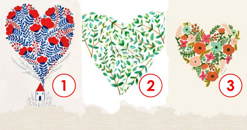 Тест: выберите сердечко и узнайте, какое будущее вас ждет